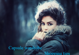 Capsule wardrobe shopping